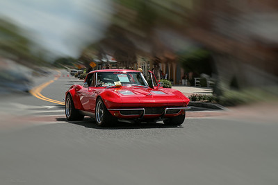 "Pre-""Great Race"" car show at Sumter Landing, The Villages, Fla."