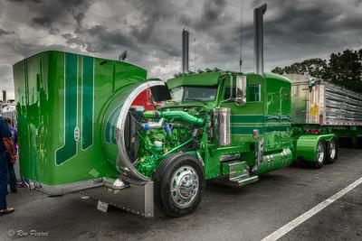75 Chrome Shop 2015 Semi-Truck Show April 2015